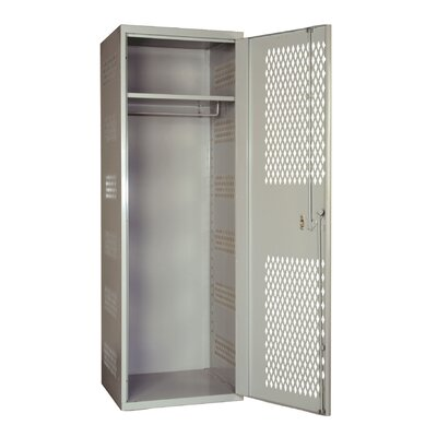Hallowell SecurityMax 1-Wide Single Tier All-Welded Locker