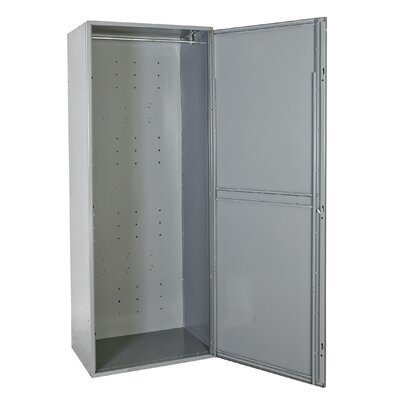 Hallowell Uniform Exchange Locker Double Tier 1 Wide (Assembled)