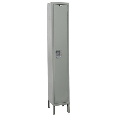Hallowell Maintenance-Free Quiet Locker Single Tier 1 Wide (Knock-Down) (Quick Ship)