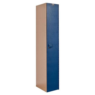 Hallowell AquaMax Plastic Locker Single Tier 1 Wide (Assembled)
