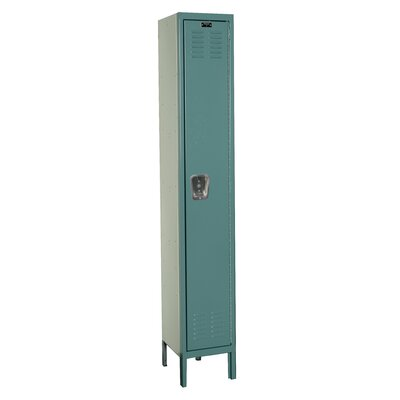 Hallowell Premium Stock Lockers - Single Tier - 1 Section (Assembled)