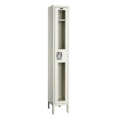 Hallowell Safety-View Stock Lockers - Single Tier - 1 Section (Assembled)