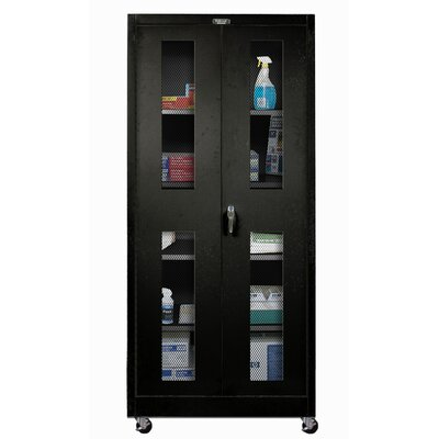 Hallowell 800 Series Assembled Mobile Storage Cabinet
