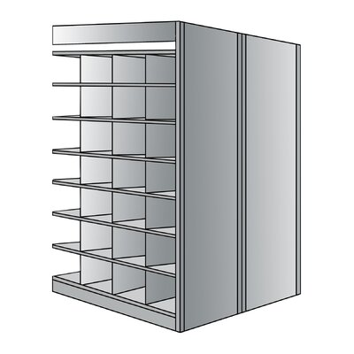 "Hallowell 87"" H 8 Shelf Shelving Unit Add-on"