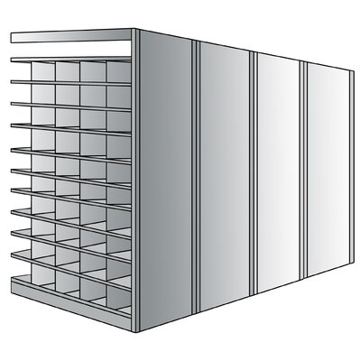 "Hallowell 87"" H 11 Shelf Shelving Unit Add-on"