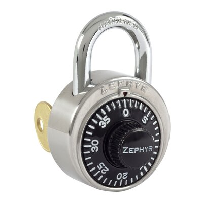 Hallowell Zephyr Built-in Padlock with Control Key