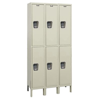 Hallowell Maintenance-Free Quiet (MFQ) Knock-Down Locker