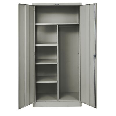 Hallowell 400 Series Stationary Solid Knock-Down Combination Cabinet
