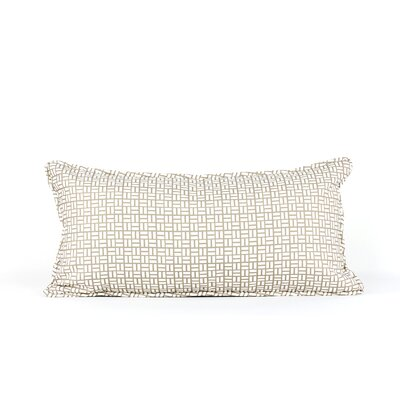 LJ Home Panache Geometric  Breakfast Cushion