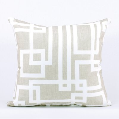 LJ Home Geometric Square Cushion (18x18)