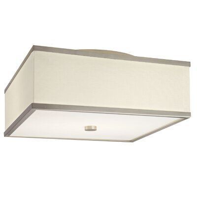 Hart Lighting Corona 17 2 Light Flush Mount