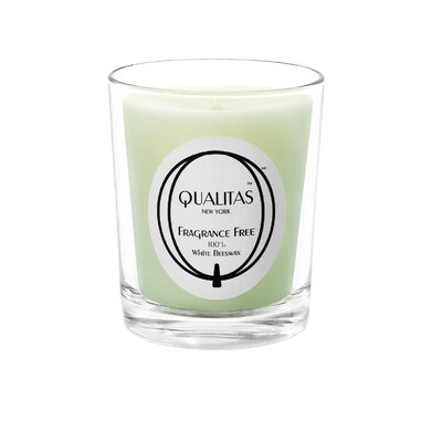 Qualitas Candles Beeswax Fragrance Free Unscented