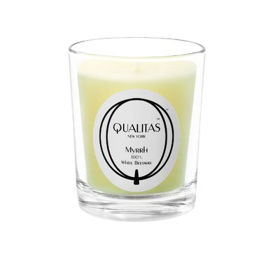 Qualitas Candles Beeswax Myrrh Scented Candle