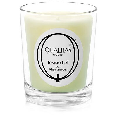 Qualitas Candles Beeswax Tomato Leaf Scented Candle
