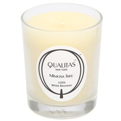 <strong>Qualitas Candles</strong> Beeswax Mimosa Tree Scented Candle