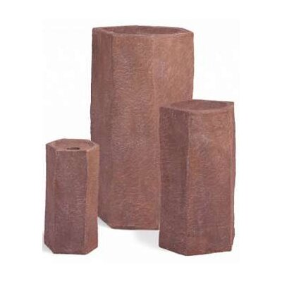 Fiberglass Basalt Column Fountain (Set of 3)