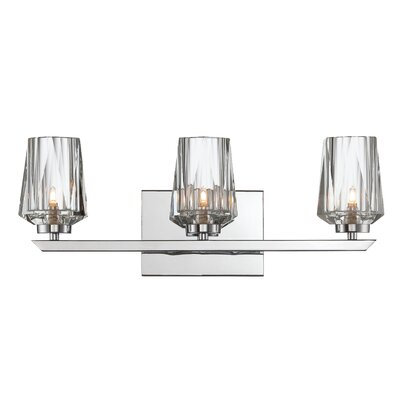 Alternating Current Ginsu 3 Light Bath Vanity Light