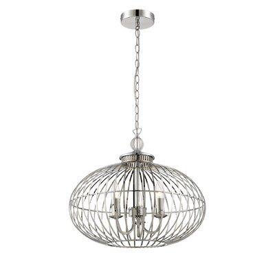 Alternating Current Cagey 3 Light Globe Pendant