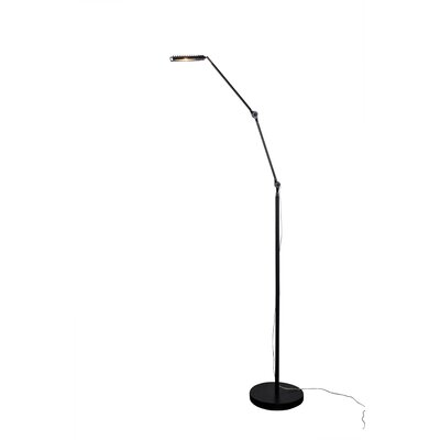 Alternating Current Assist 1 Light LED Square Floor Lamp