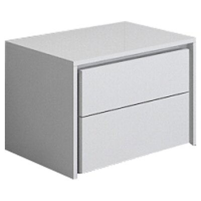 Zen 2 Drawer Nightstand