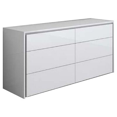 Casabianca Furniture Zen 6 Drawer Dresser