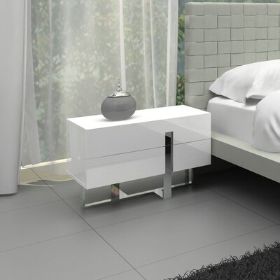 Casabianca Furniture Collins Nightstand