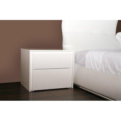 Casabianca Furniture Zen 2 Drawer Nightstand