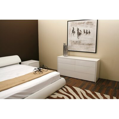 Zen Bedroom Collection-Zen 2 Drawer Nightstand