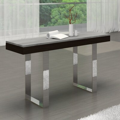 Casabianca Furniture Glacier Console Table