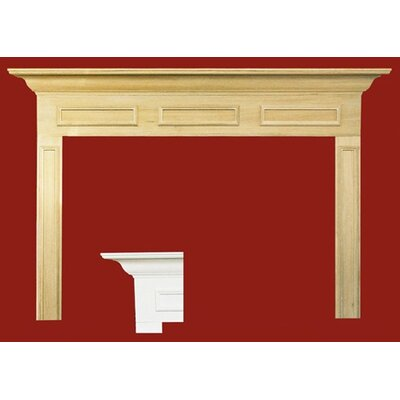 Forshaw Litchfield II MDF Primed Fireplace Mantel Surround