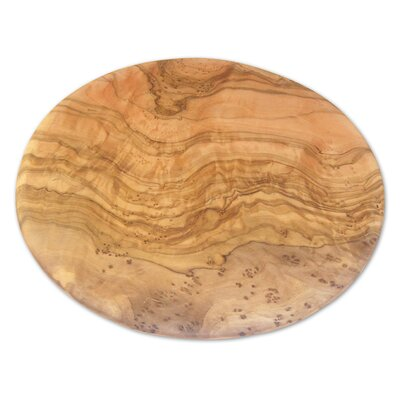 Olive Wood Round Cutting Board