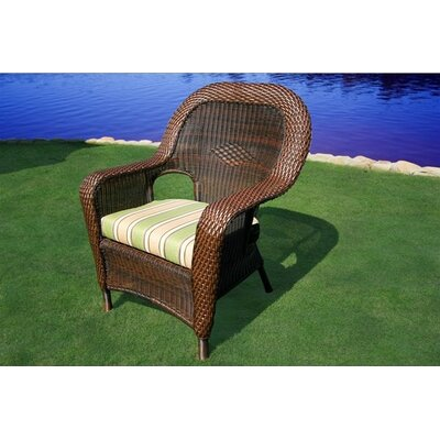 Tortuga Outdoor Lexington Dining Arm Chair with Cushion
