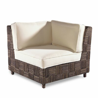 Padmas Plantation Loft Corner Fabric Lounge Chair