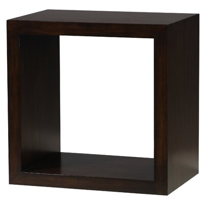 Padmas Plantation Modulare Two Sided Open Cube in Dark