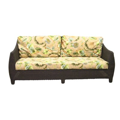 Padmas Plantation Outdoor Bay Harbor Sofa with Cushions