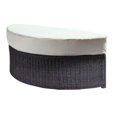 Padmas Plantation Outdoor Haven Ottoman with Cushion
