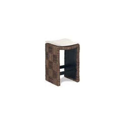 Plaid Counter Stool