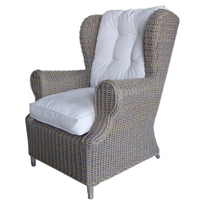 <strong>Padmas Plantation</strong> Outdoor Cottage Deep Seating Wing Chair
