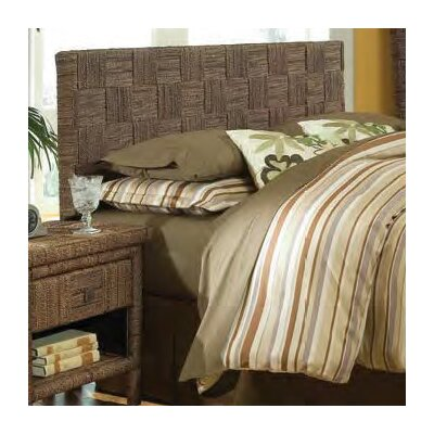 Plaid Low Panel Headboard