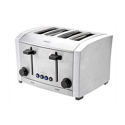 Krups 4 Slice Die-Cast Metal Toaster