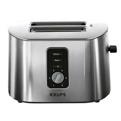 Krups 2 Slice Toaster in Brushed Stainless Steel