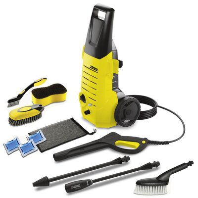 1600 PSI Electric Pressure Washer with Car Care Kit