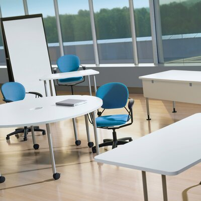 Steelcase Groupwork Mobile Easel Whiteboard