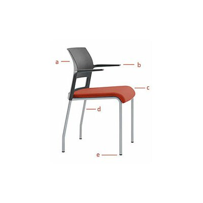 Steelcase Move Multi Use Chair with Upholstered Seat