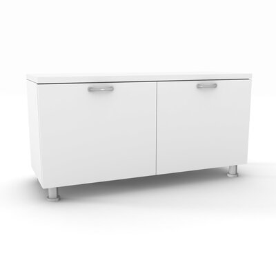 "Steelcase Currency 36"" W Lower Storage Cabinet"