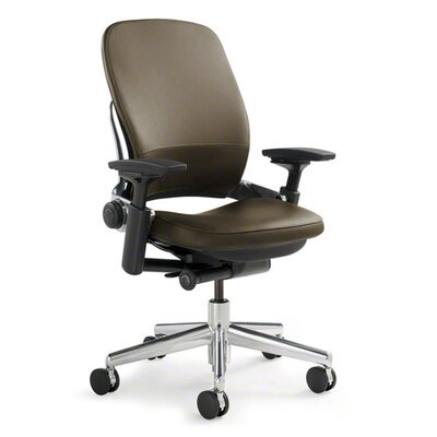 Steelcase Leap Mid-Back Leather Office Chair