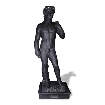 Amedeo Design ResinStone David Statue