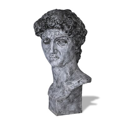 Amedeo Design ResinStone David Bust Statue