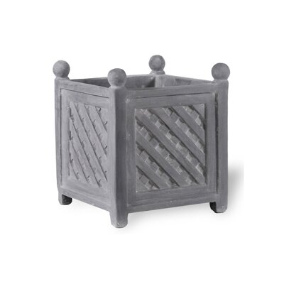 ResinStone Square Lattice Planter