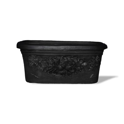 ResinStone Oval Fruit Window Planter